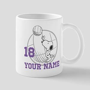 Snoopy Volleyball - Personalized Mug