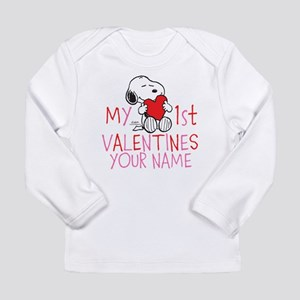Snoopy - My 1st Vday Infant Long Sleeve T-Shirt