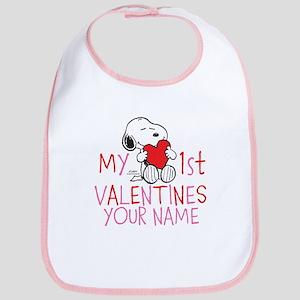 Snoopy - My 1st Vday Bib