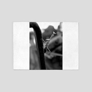 Praying Mantis. 5'x7'Area Rug