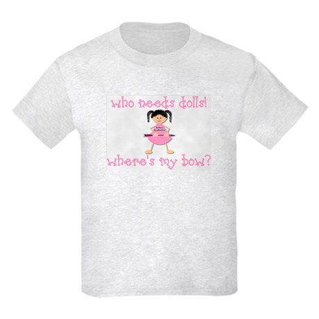 Where's My Bow? Kids Light T-Shirt