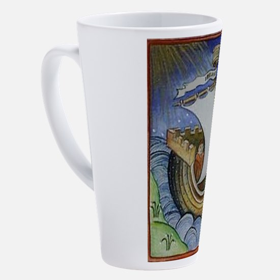 Unique Vibrant color 17 oz Latte Mug