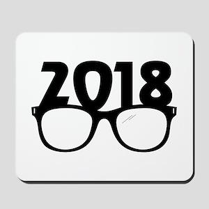 2018 Glasses Mousepad