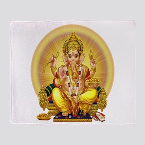 GANESH Throw Blanket