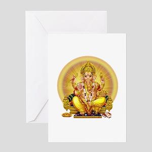 Ganesh greeting cards cafepress ganesh greeting cards m4hsunfo