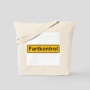 Fartkontrol, Denmark Tote Bag