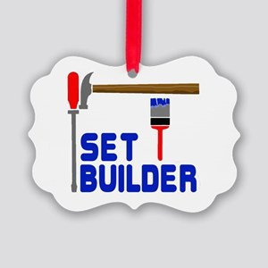 Set Builder Picture Ornament