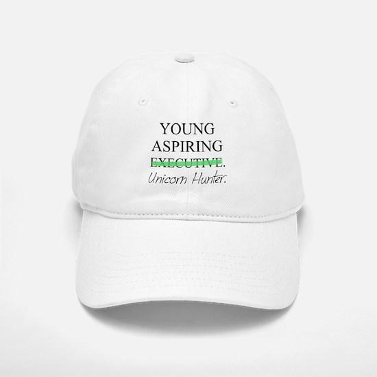 Young Aspiring Unicorn Hunter Baseball Baseball Cap
