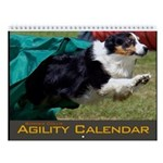 Border Collie Agility Wall Calendar II