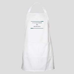 I'd rather be rowing Apron