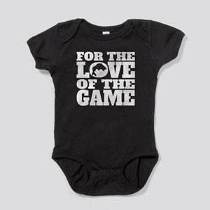 For The Love Of The Game Fishing Baby Bodysuit