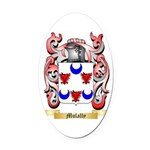 Mulally Oval Car Magnet