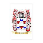 Mulally Sticker (Rectangle 50 pk)