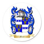 Muir Round Car Magnet