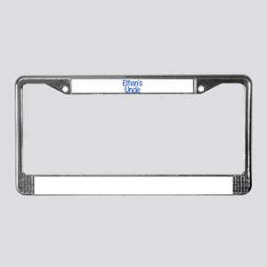 Ethan's Uncle License Plate Frame