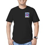 Mugnaro Men's Fitted T-Shirt (dark)