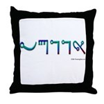 """Wicca"" Throw Pillow"