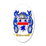 Mugnaini 35x21 Oval Wall Decal