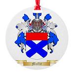 Muffit Round Ornament