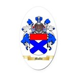 Muffit Oval Car Magnet
