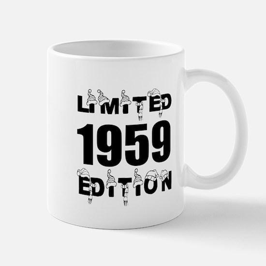 Limited 1959 Edition Birthday De Mug