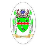 Mudie Sticker (Oval 50 pk)