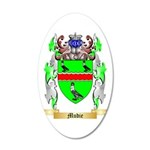 Mudie 35x21 Oval Wall Decal