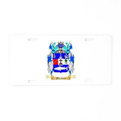 Muckeen Aluminum License Plate