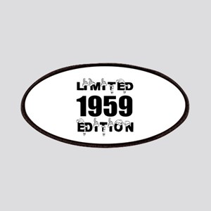Limited 1959 Edition Birthday Designs Patch