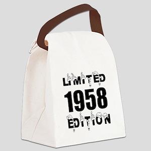 Limited 1958 Edition Birthday Des Canvas Lunch Bag