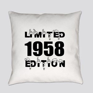 Limited 1958 Edition Birthday Desi Everyday Pillow