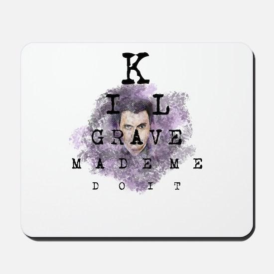 Kilgrave made me do it Mousepad