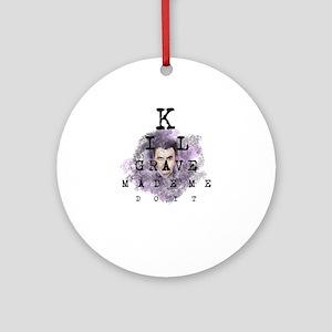 Kilgrave made me do it Round Ornament