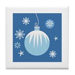 Winter Holiday Tile Coaster