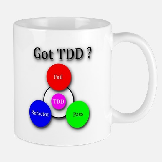 TDD Red Green Refactor Mugs