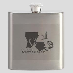 Louisiana Silhouette Sportman's Paradise Flask