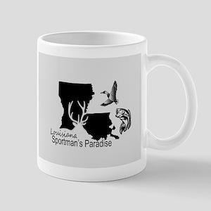Louisiana Silhouette Sportman's Paradise Mugs
