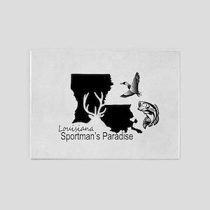 Louisiana Silhouette Sportman's Par 5'x7'Area Rug