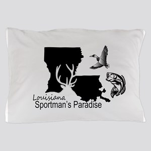 Louisiana Silhouette Sportman's Paradi Pillow Case