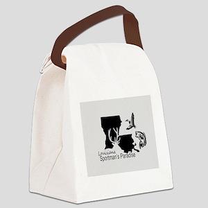 Louisiana Silhouette Sportman's P Canvas Lunch Bag