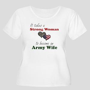Strong Woman A Women's Plus Sz T-Shir