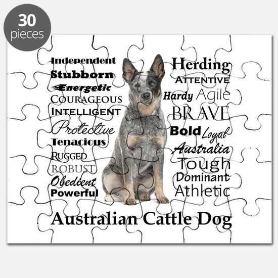 Cattle Dog Traits Puzzle