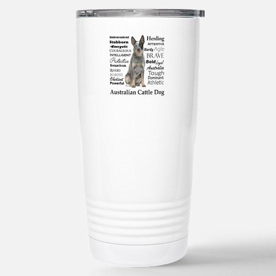Cattle Dog Traits Travel Mug