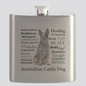 Cattle Dog Traits Flask