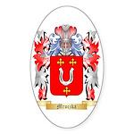 Mroczka Sticker (Oval 50 pk)