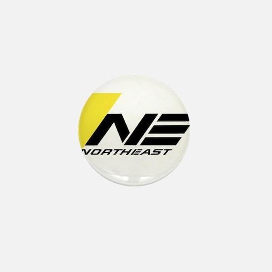 Northeast Airlines Brand Mini Button