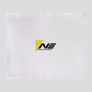 Northeast Airlines Brand Throw Blanket