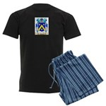 Mozes Men's Dark Pajamas