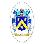 Mozes Sticker (Oval 50 pk)