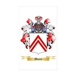 Moyer Sticker (Rectangle 10 pk)
